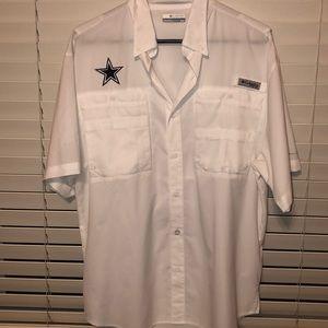 Cowboys fishing shirt